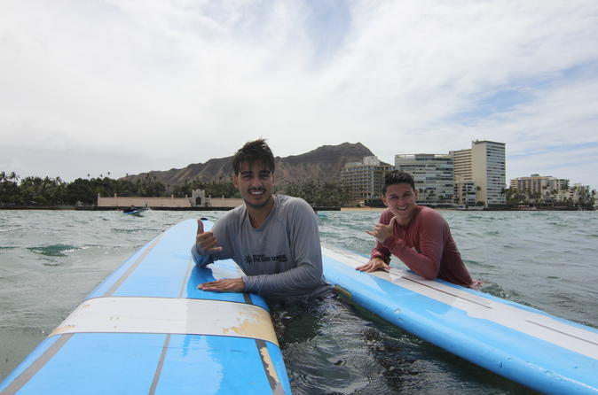 Private Surfing Lesson: Two Hour Surfing Lesson on Oahu