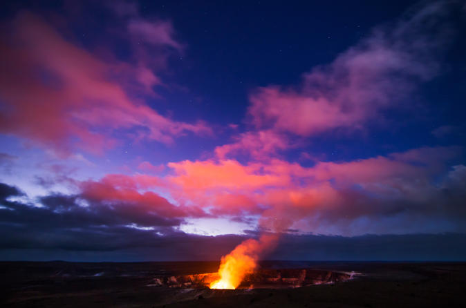 Small Group Tour: Deluxe Volcano Experience with Restaurant Dinner on Hawaii