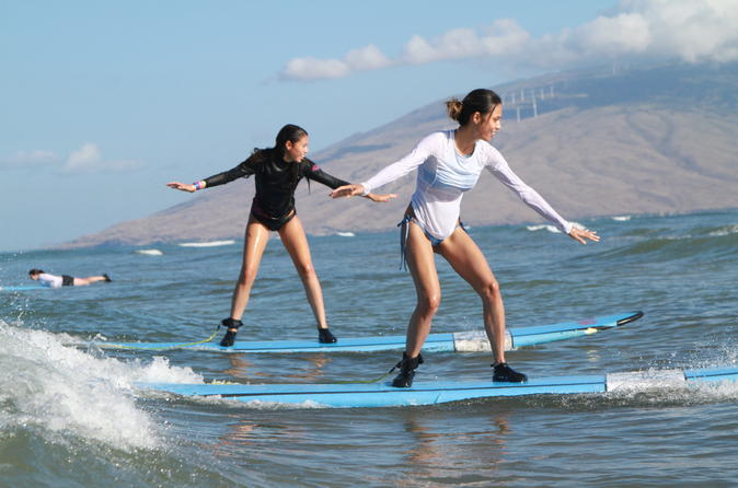 Surf Lessons in South Maui on Maui