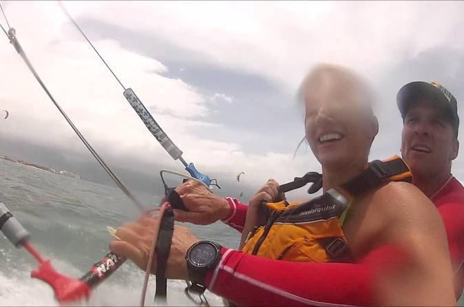 Tandem Kiting on Hawaii