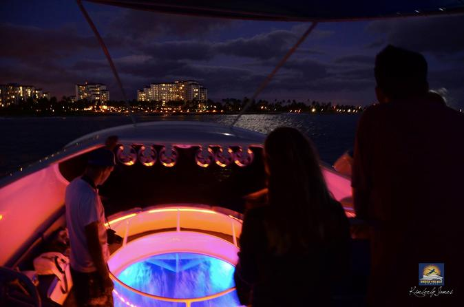 The Reef at Night Sunset Bioluminescence Tour on Oahu