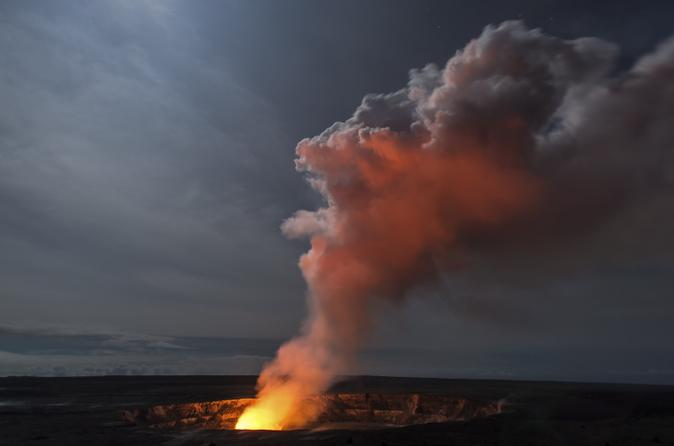 Volcano National Park Small Group Twilight Tour on Hawaii