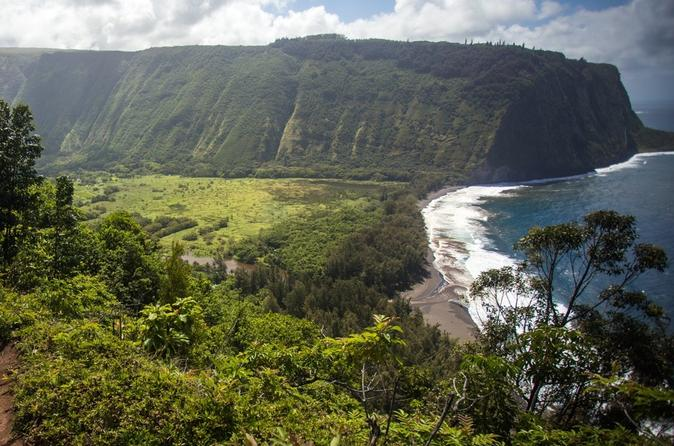 Waipio Valley Explorer Overlook from Kona on Hawaii