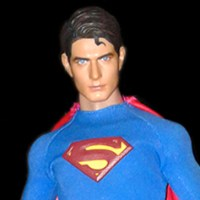 1/6th scale Brandon Routh Superman figure (2007*)