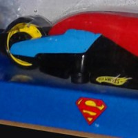 Hot Wheels Hero Cycles Superman Vehicle (2006)