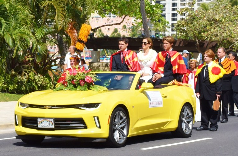 Royals come out for Prince Kuhio Day