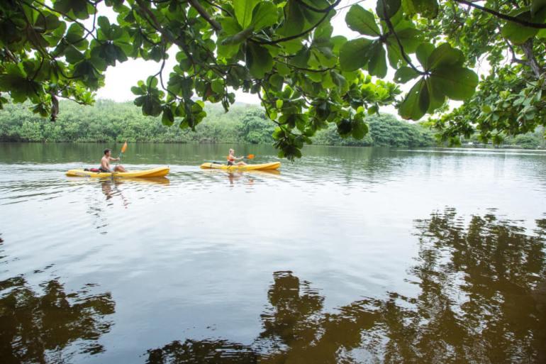 Kayaking on Kauai is a top Kauai activity for families