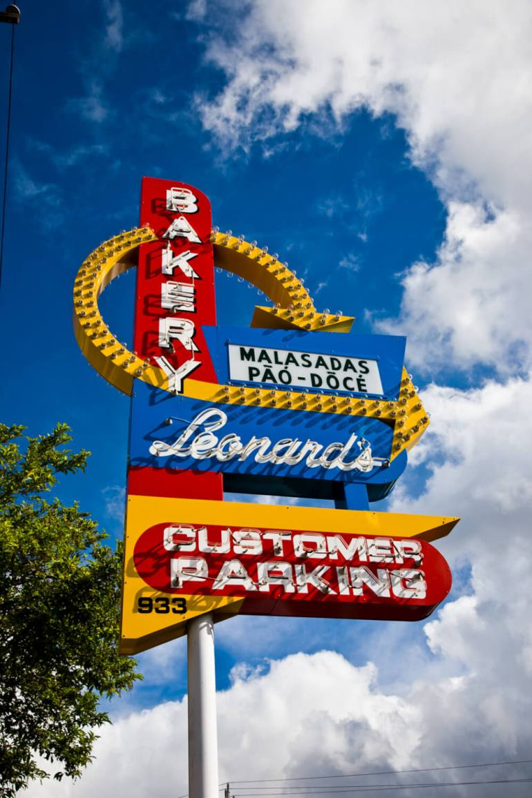 50 Best Places to Visit in Hawaii with your Family featured by top Hawaii blog, Hawaii Travel with Kids: Leonard's Malasadas is one of the most popular bakeries on Oahu