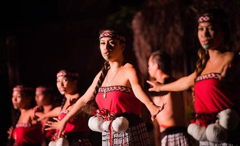 The Best Luau in Maui featured by top Hawaii travel blog, Hawaii Travel with Kids: For a Polynesian show on Maui, head to Myths of Maui