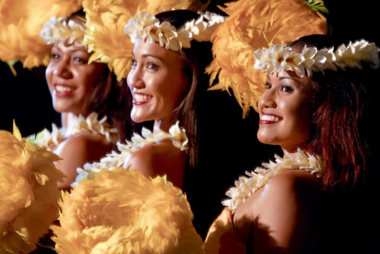The Best Luau in Maui featured by top Hawaii travel blog, Hawaii Travel with Kids: The Old Lahaina Luau is one of the best luaus on Maui