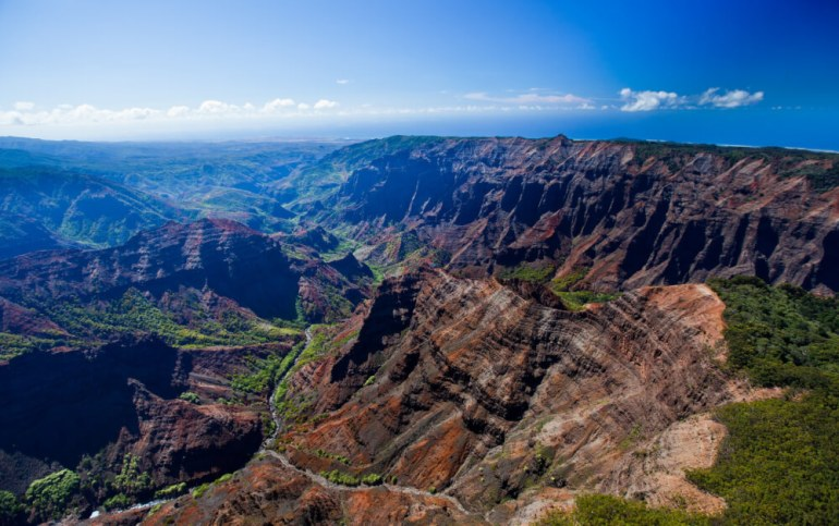 Top 25 Things to do in Poipu, Kauai featured by top Hawaii blog, Hawaii Travel with Kids: Waimea Canyon is one of the top Kauai attractions for families.