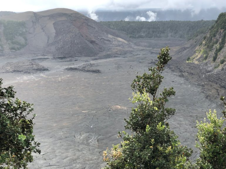 Everything you Need to Know About Traveling to Hawaii Big Island with Kids featured by top Hawaii travel blog, Hawaii Travel with Kids | You'll want to check out cool craters like this at Hawaii Volcanoes National Park on the Big Island