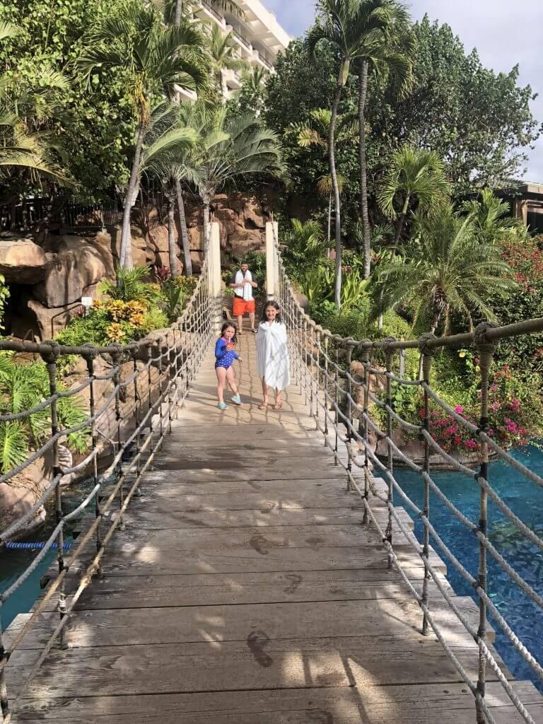 The Hyatt Regency Maui is a kid-friendly Maui hotel with fun swimming pools
