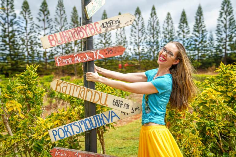 Top 25 Things to do in Poipu, Kauai featured by top Hawaii blog, Hawaii Travel with Kids: Get a free cup of coffee at Kauai Coffee Plantation and take one of their free walking tours around the estate.