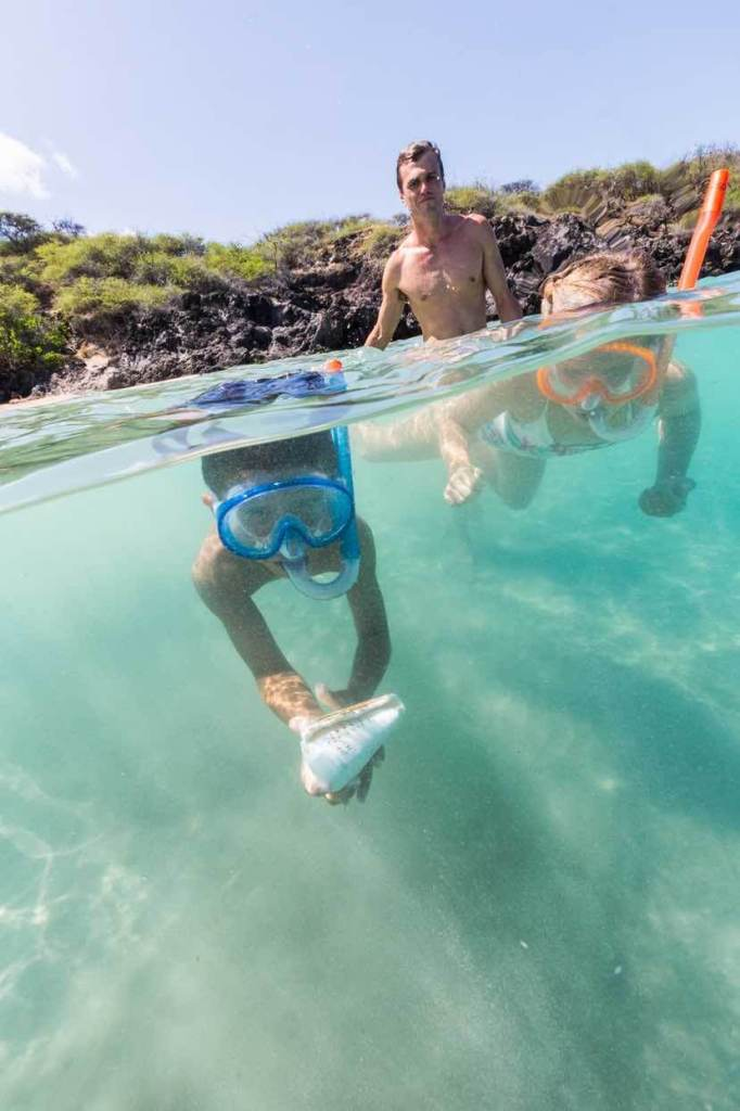 There are tons of great Oahu snorkeling spots like this one