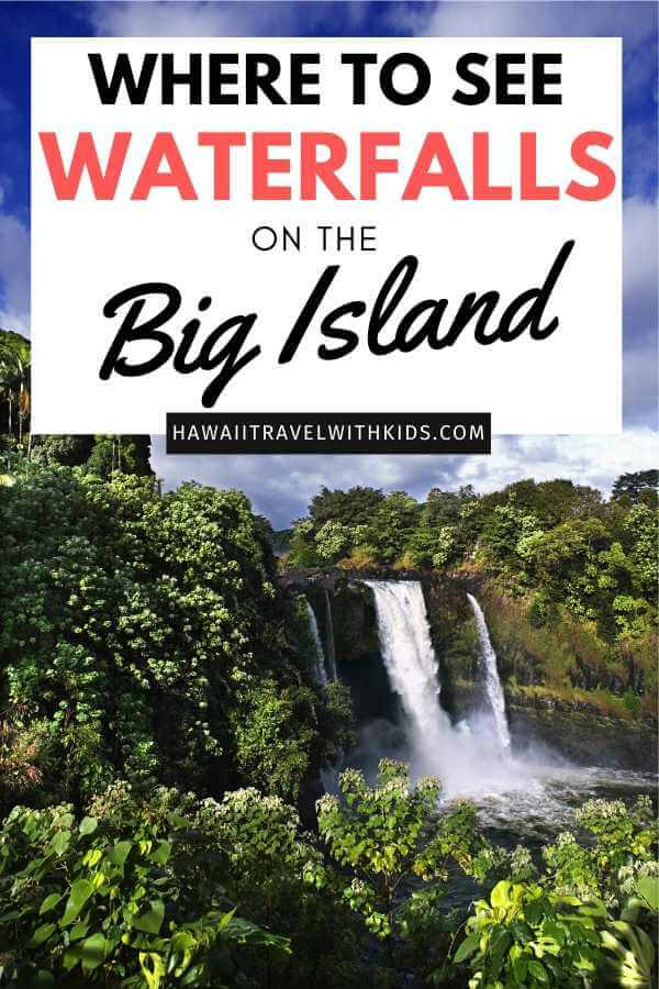 Top 7 Big Island Hawaii Waterfalls you Should Visit featured by top Hawaii blog, Hawaii Travel with Kids