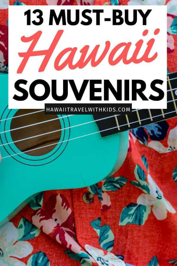 Top 13 Best Hawaiian Souvenirs to Bring Home featured by top US Hawaii blog, Hawaii Travel with Kids.