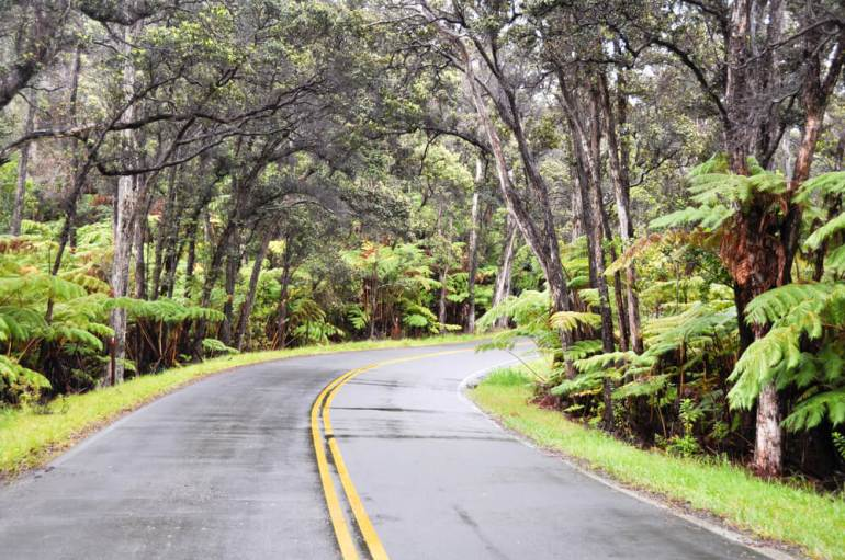 The Ultimate Guide to Hawaii Volcanoes National Park featured by top Hawaii blog, Hawaii Travel with Kids: Chain of Craters Road, Hawaii Volcanoes National Park on the Big Island