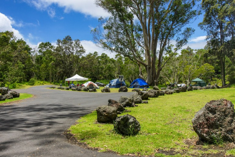 The Ultimate Guide to Hawaii Volcanoes National Park featured by top Hawaii blog, Hawaii Travel with Kids: Namakani Paio Campground in Hawaii Volcanoes National Park in Hawaii