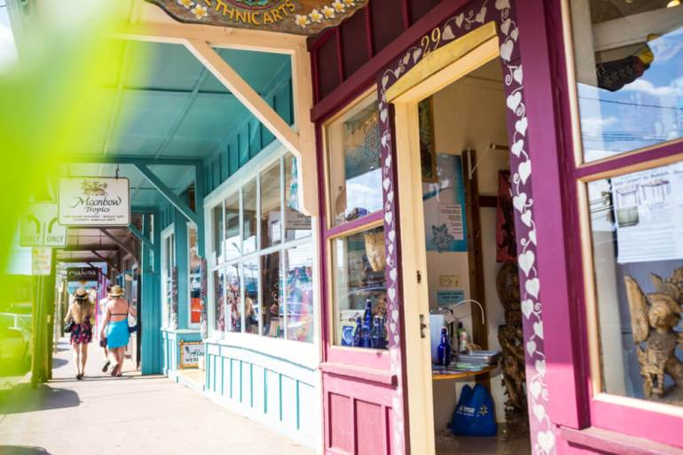 The Ultimate Guide to Shopping on Maui featured by top Hawaii blog, Hawaii Travel with Kids