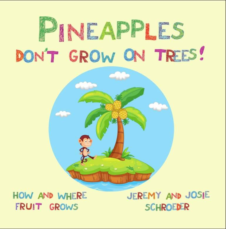 Pineapple Facts for Kids + FREE Printable featured by top Hawaii blog, Hawaii Travel with Kids: Cover Image
