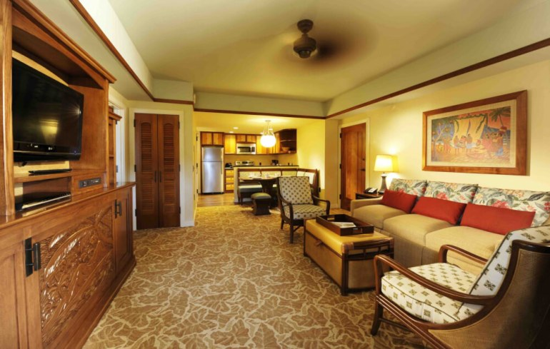 Top 8 Romantic Oahu Honeymoon Resorts featured by top Hawaii blog, Hawaii Travel with Kids: Disney Aulani Villa