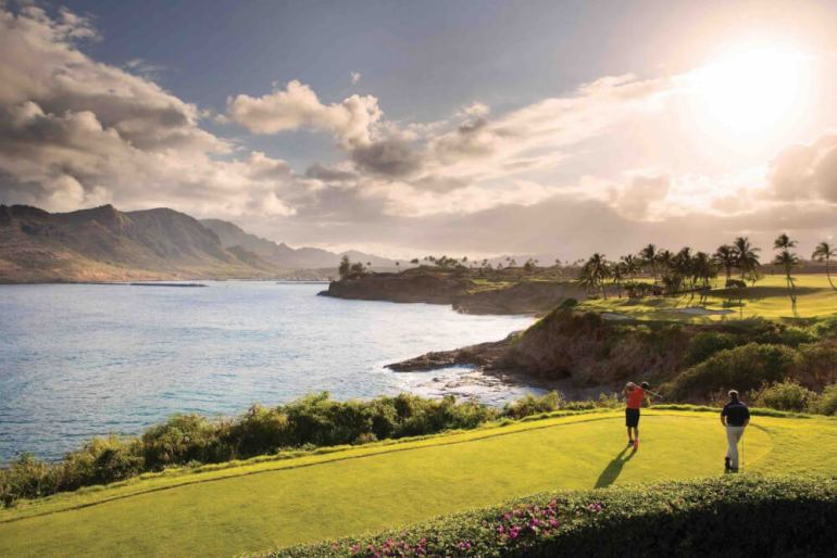 Royal Sonesta Kauai Resort golf course