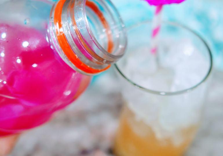 Hawaiian Mocktail Recipe: Mermaid Water Mocktail featured by top Hawaii blogger, Hawaii Travel with Kids