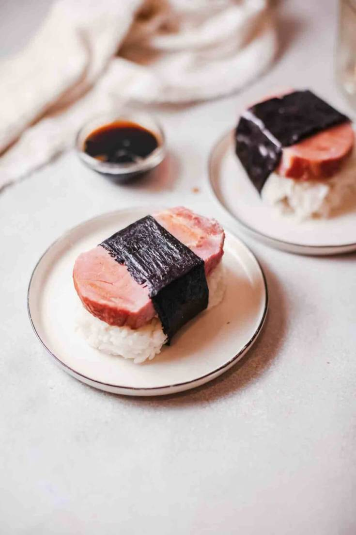 Spam Musubi recipe by top Hawaii blog Hawaii Travel with Kids