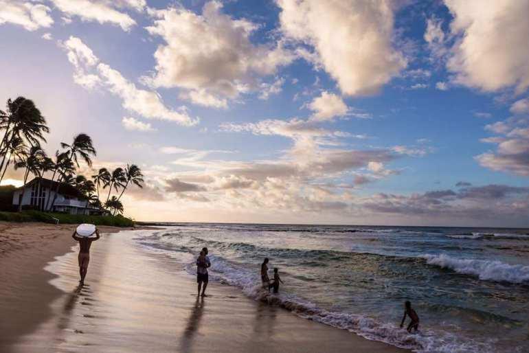 101 Best Things to Do on Kauai with Kids featured by top Hawaii blog, Hawaii Travel with Kids: Koloa is a great place to see a beautiful Kauai sunrise