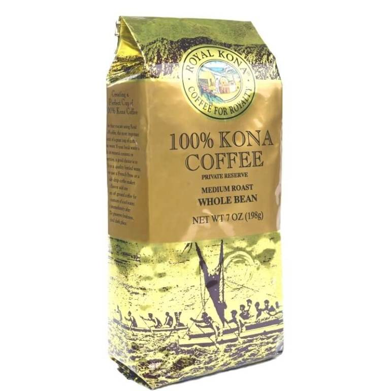 Top 13 Best Hawaiian Souvenirs to Bring Home featured by top US Hawaii blog, Hawaii Travel with Kids: Private Reserve Medium Roast 100% Kona Coffee