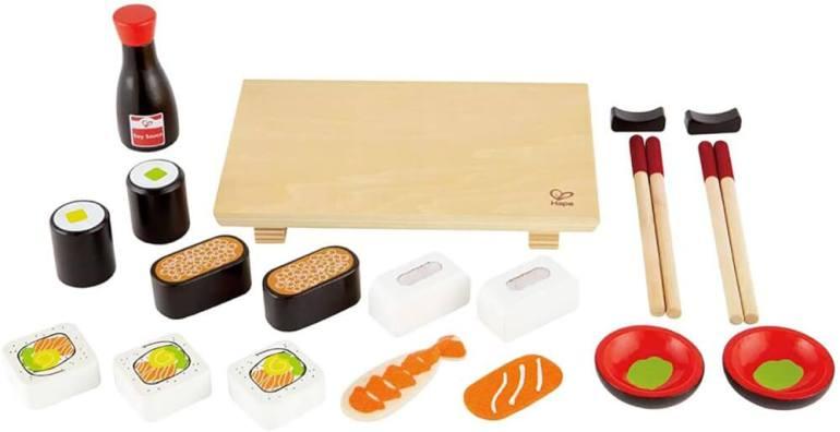 Hawaiian toys and Hawaiian gifts for kids by top Hawaii blogger Hawaii Travel with Kids: Kids sushi playfood set