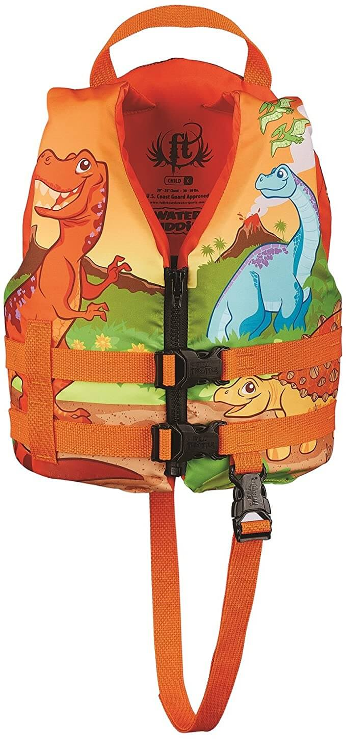 The Best Life Jackets For Toddlers & Preschoolers featured by top Hawaii blog, Hawaii Travel with Kids: Full throttle water buddies