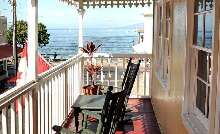 Top 5 Best Maui Boutique Hotels featured by top Hawaii blog, Hawaii Travel with Kids:The Lahaina Inn is one of the coolest boutique hotels in Lahaina