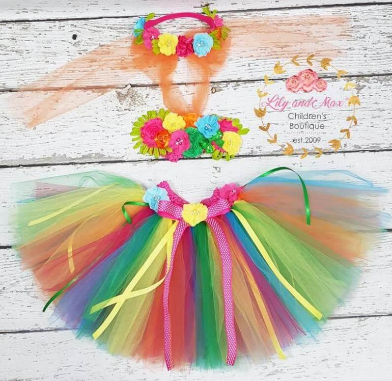 Hawaiian toys and Hawaiian gifts for kids by top Hawaii blogger Hawaii Travel with Kids: Hula Luau Birthday Outfit First Luau Birthday Tutu Outfit image 0