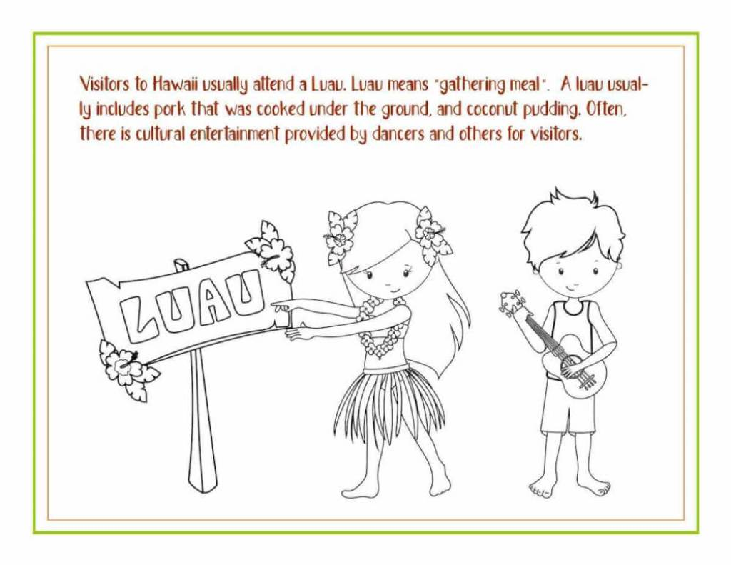 Awesome Hawaiian Coloring Sheets And Activity Pages For Kids Hawaii Travel With Kids