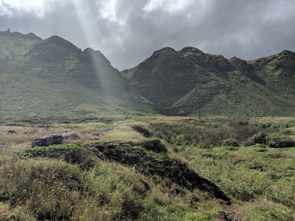 Waianae Volcano during the Ka'ena Point Hike