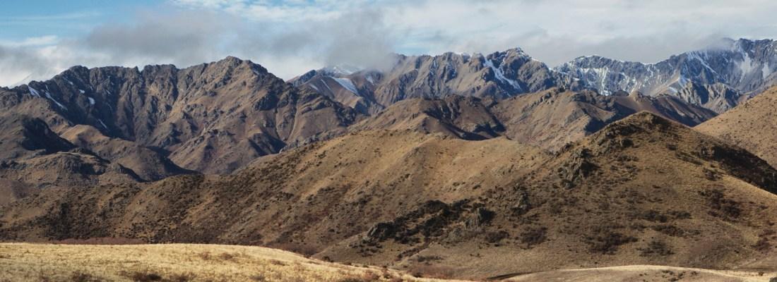 Foothills to Inland Kaikoura Range