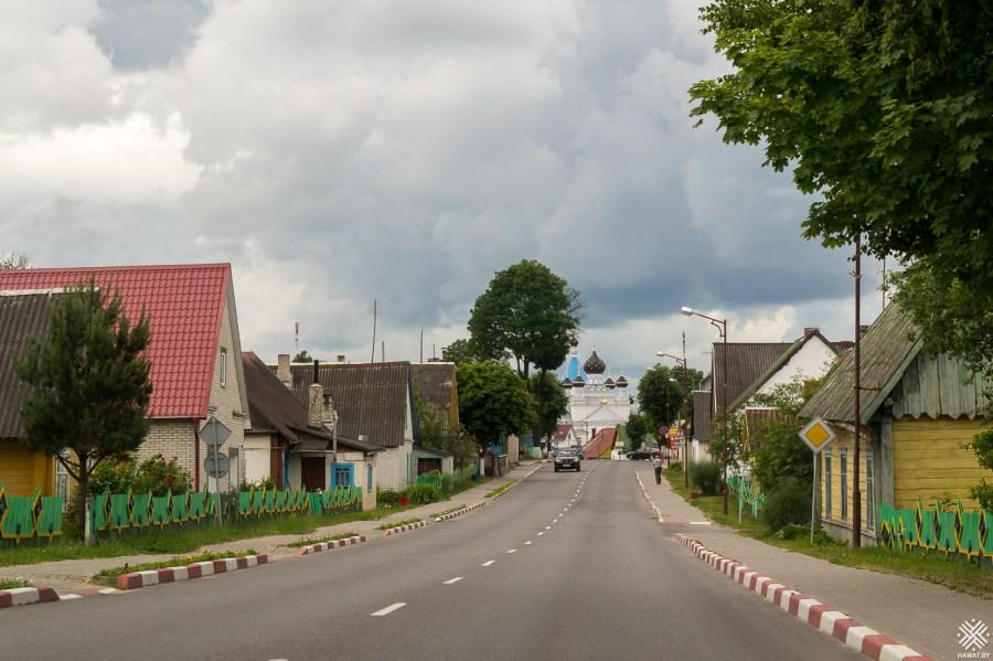 Вид на город Поставы