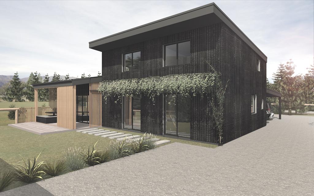 Hawea Grove eco building render 1