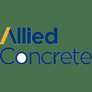 Allied concrete logo