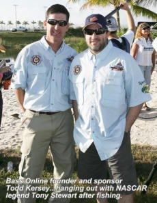 Tony Stewart Fishing