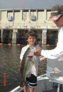 Mitchie & Fish on Lake Okeechobee