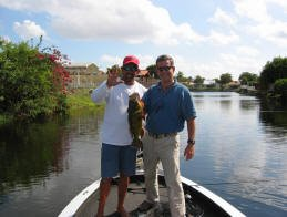 Florida Peacock bass Fishing
