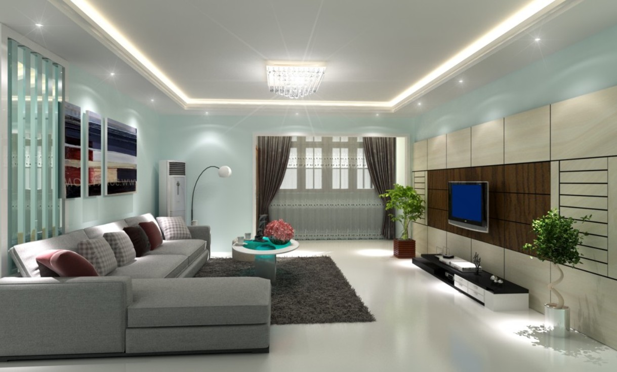 Attractive Paint Designs For Living Room Part 30