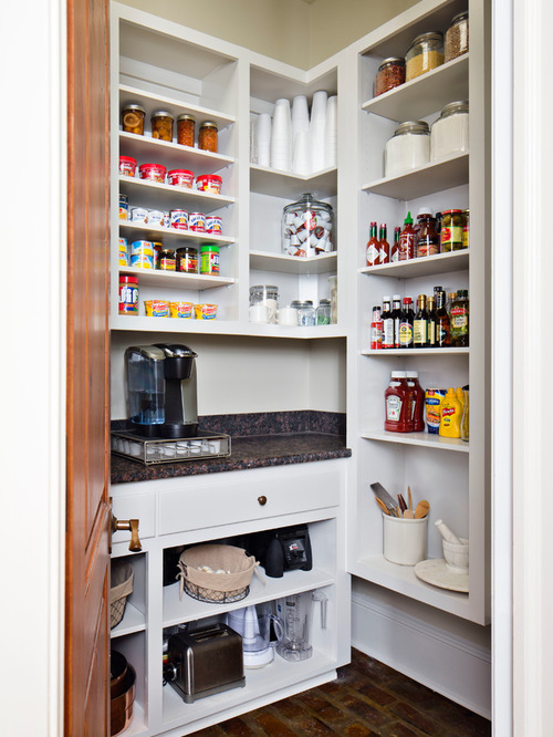 Small Kitchen Open Pantry Hawk Haven