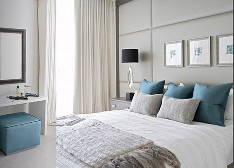 Blue Grey Bedroom Decorating Ideas Hawk Haven