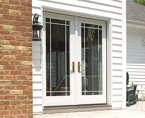 French Double Doors Lowes Hawk Haven