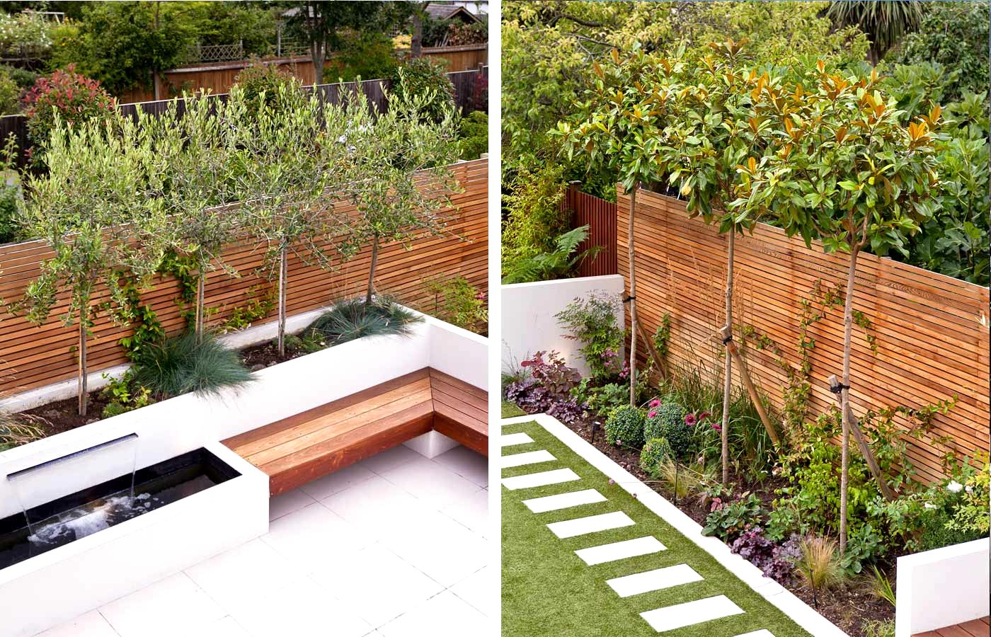 Garden design ideas long narrow gardens | Hawk Haven on Long Narrow Backyard Design Ideas id=20661