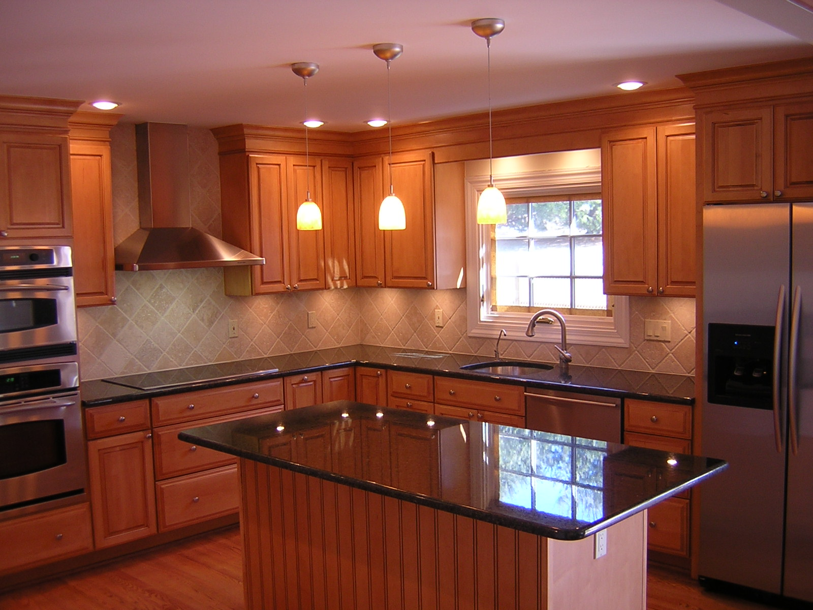 Granite kitchen counter designs   Hawk Haven granite kitchen counter designs photo   6